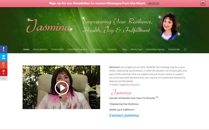 Jasmina Agrillo Scherr – Life Coach and Healer