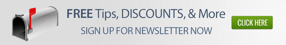 Email Newsletter Sign-up Banner